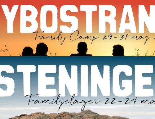 Familjeläger i Steninge och Nybostrand