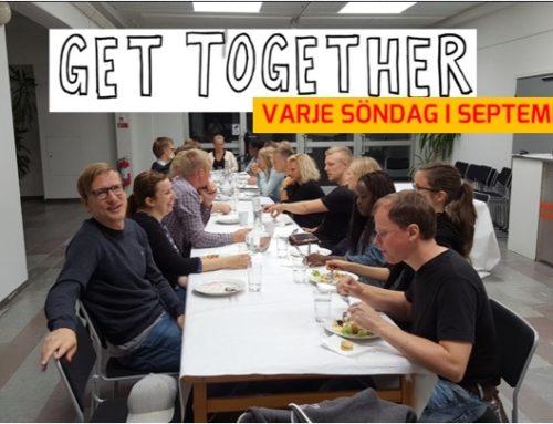 Get Together varje söndag i September 2019