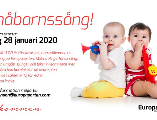 Småbarnssång – vårens terminsstart 28 januari