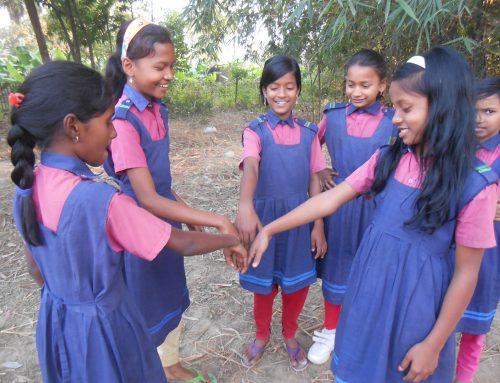 Skolprojekt i Bangladesh